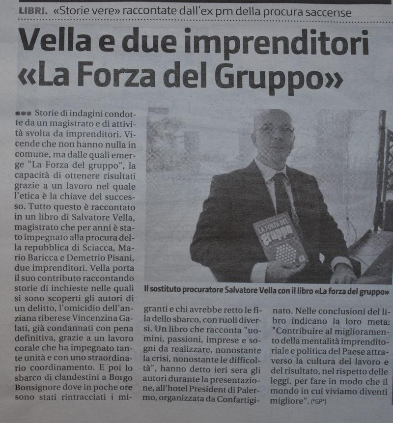 Giornale di sicilia ottobre 2011